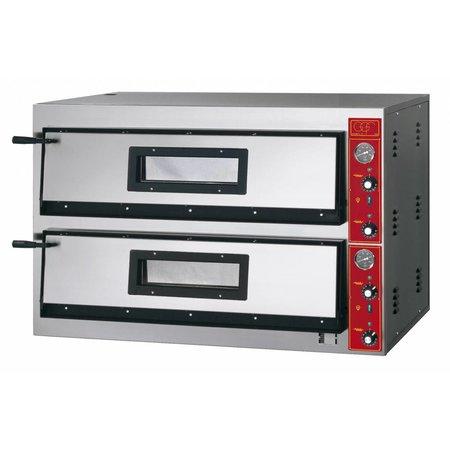 GGF Linea E Pizzaoven 6+6x30cm