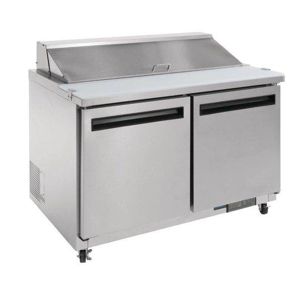 Polar 2-Deurs Saladette - 405 Liter