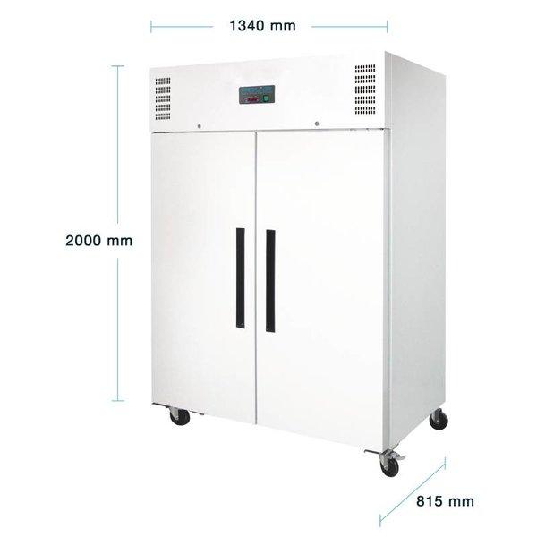 Polar 2-Deurs Horeca Koelkast - 1200 Liter
