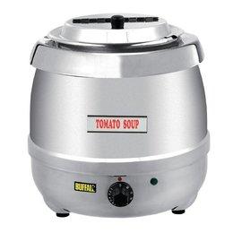 Buffalo Soepketel 10 Liter - RVS