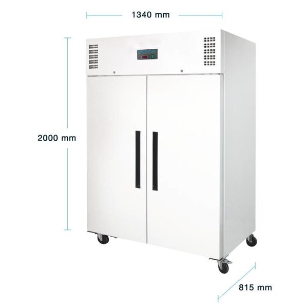 Polar 2-Deurs Vrieskast - 1200 Liter