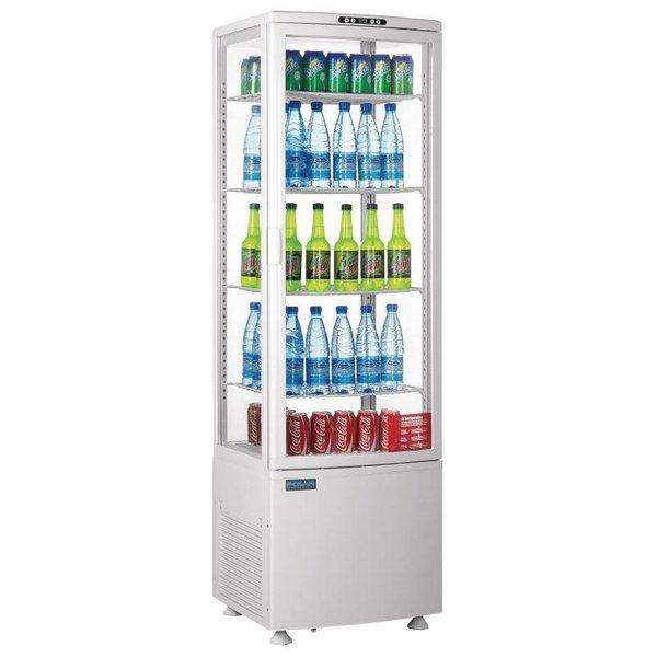 Polar Koelvitrine 235 Liter - Wit