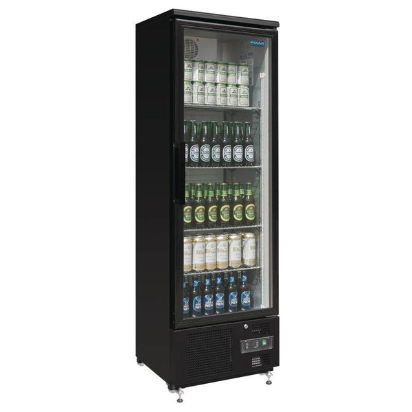Polar koelkast met glazen deur - 307 Liter