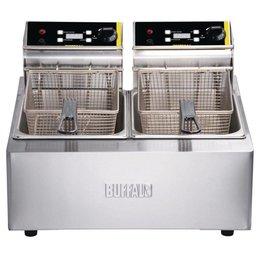 Buffalo Pro Friteuse 2x5 Liter