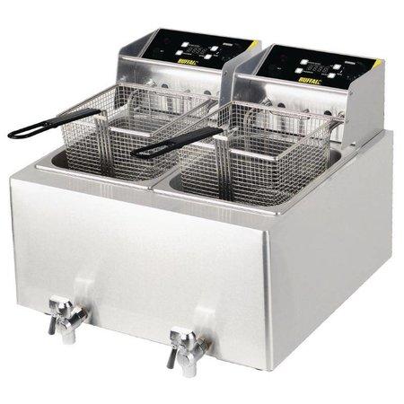 Buffalo Pro 6kW Friteuse 2x8 Liter