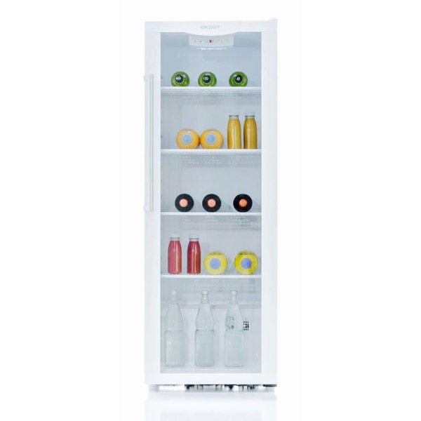 Exquisit koelkast glazen deur - 225 Liter
