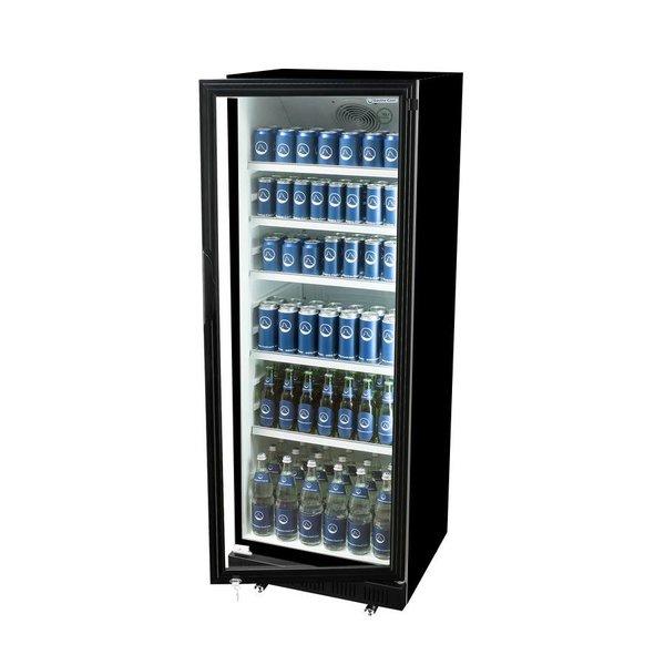 Koelkast Glazen Deur - 400 Liter