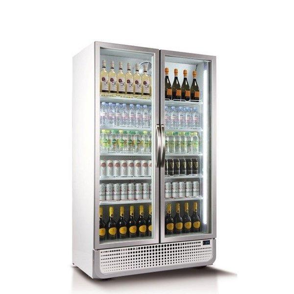 Husky Koelkast met Glazen Deuren - 975 Liter