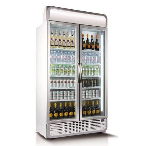 Husky Display Koelkast Glazen Deuren - 975 Liter