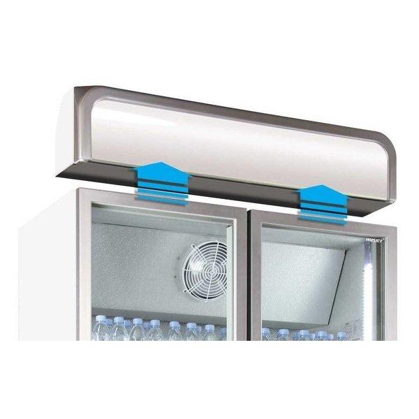 Husky Display Koelkast met Glazen Deuren - 728 Liter