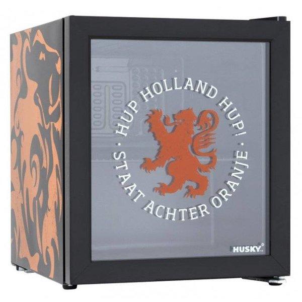 Husky Mini Glasdeur Koelkast - Nederlands Elftal