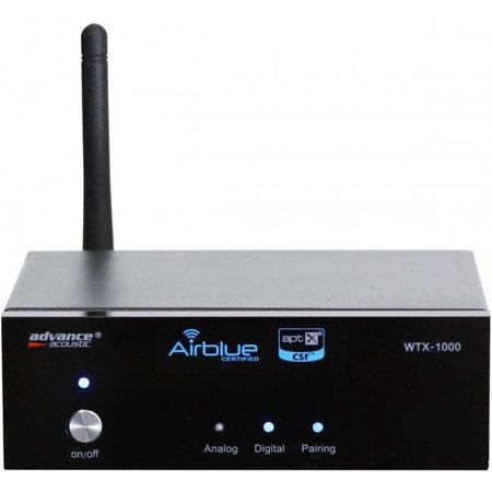 Advance Acoustic WTX-1000 Bluetooth apt-X receiver