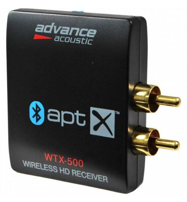 Advance acoustic wtx 500 bluetooth apt x ontvanger wifimedia - Ontvanger x ...