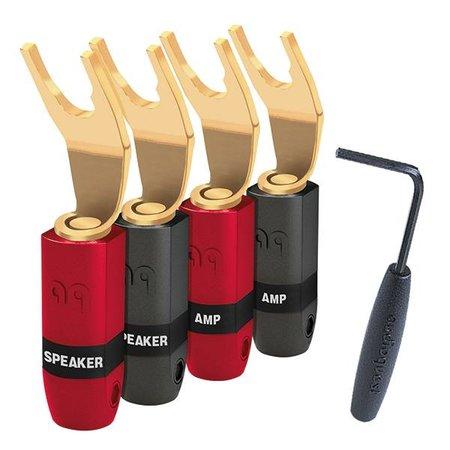 AudioQuest SureGrip 300 Multi-Spade Goud (set van 4)