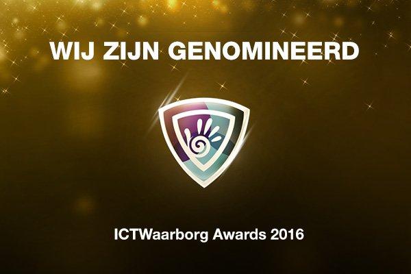 Wifimedia is genomineerd voor ICTWaarborg Awards 2016 winkel/webwinkel van het jaar!
