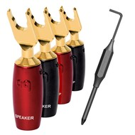 AudioQuest 500 Series Multi-Spade Gold