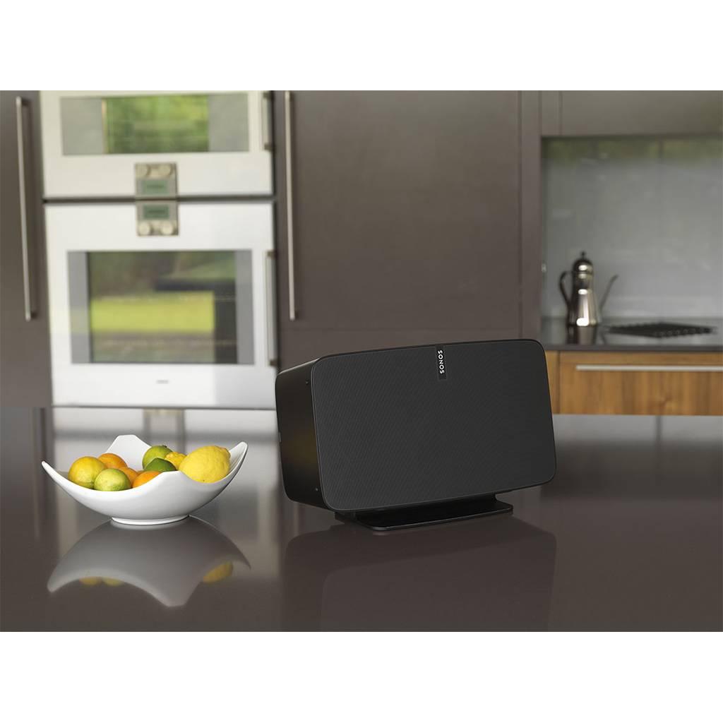 flexson desk stand for sonos play 5 wifimedia. Black Bedroom Furniture Sets. Home Design Ideas