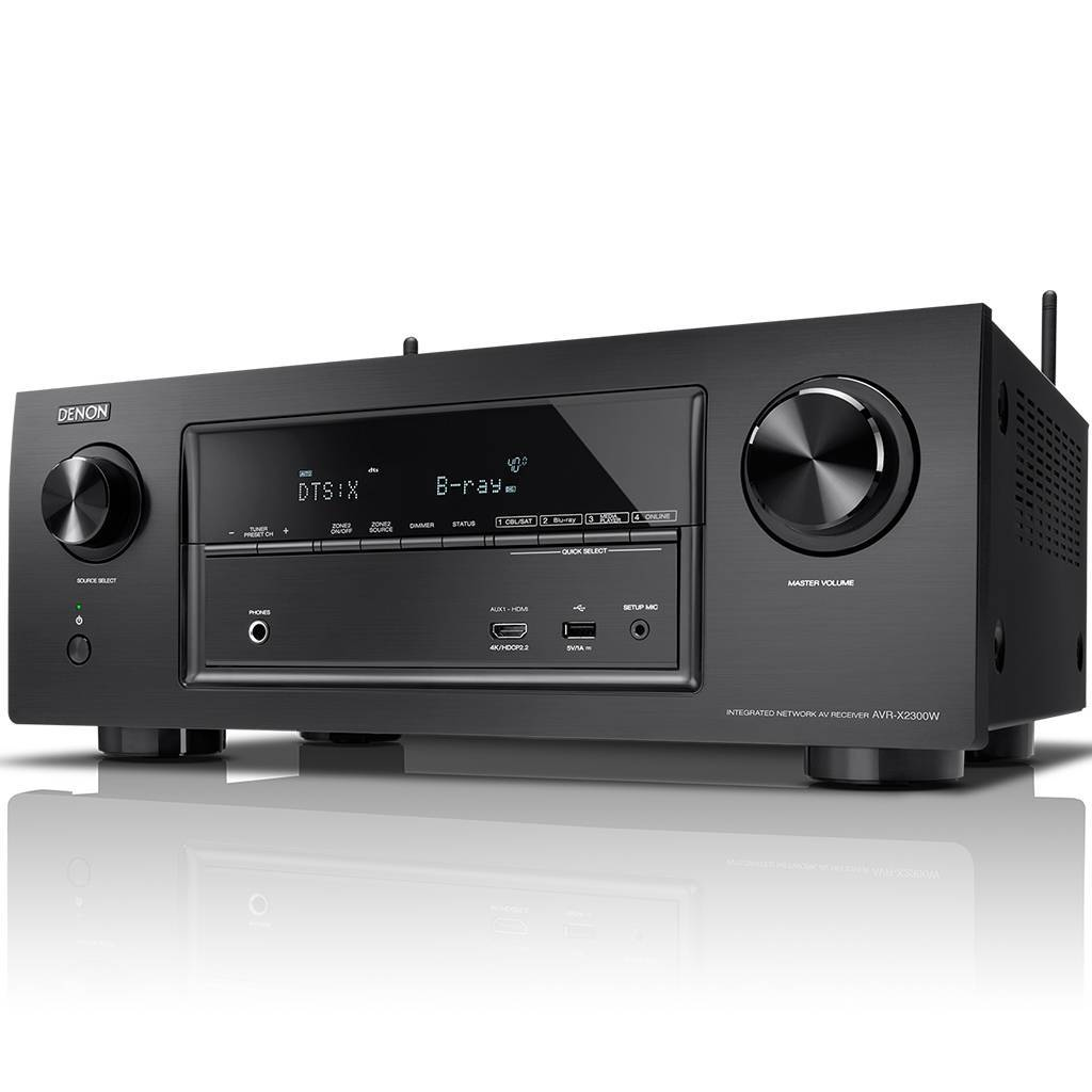Denon AVR-X1300W and AVR-X2300W in stock!