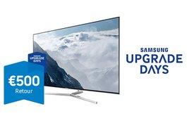 Samsung Upgrade Days: tot €500 retour bij aankoop van een Samsung TV
