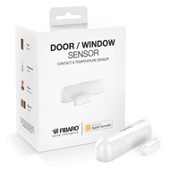 Fibaro Door/Window Sensor works with Apple HomeKit White