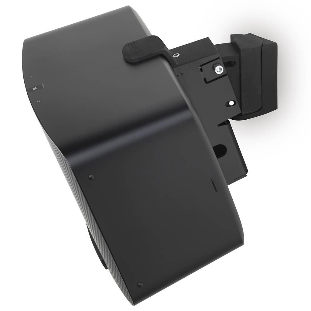 flexson wall mount for sonos play 5 black wifimedia. Black Bedroom Furniture Sets. Home Design Ideas