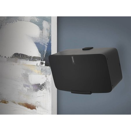 Flexson Wall Mount for Sonos PLAY:5 Black