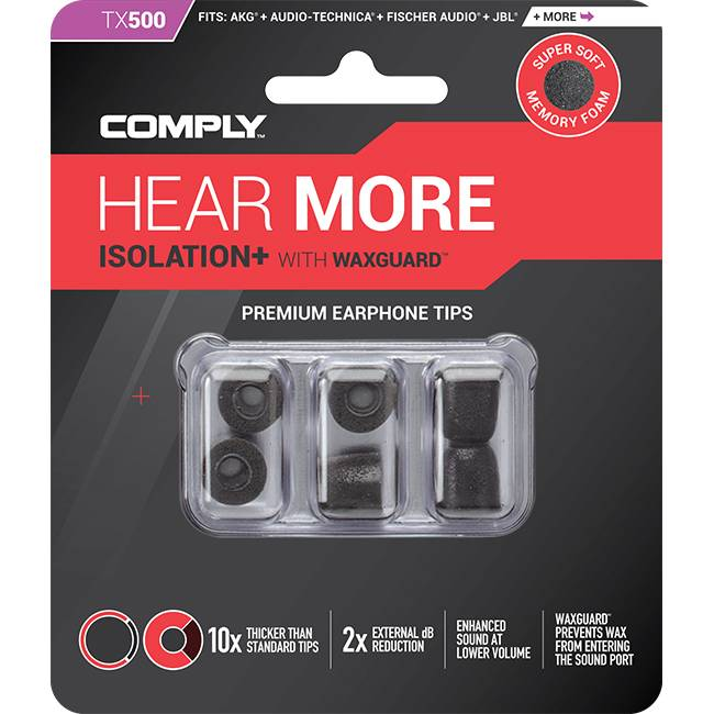 Comply Isolation Plus Tx-Series