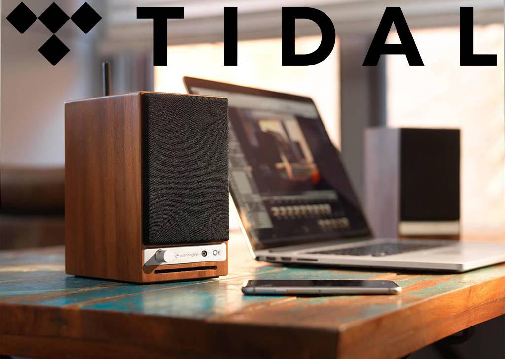 Tijdelijk bij aanschaf van een Audioengine product een gratis proefperiode van 90 dagen van TIDAL!