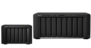 Synology DS1517 & DS1817 leverbaar!