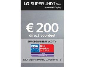 LG SUPER UHD TV Promotie