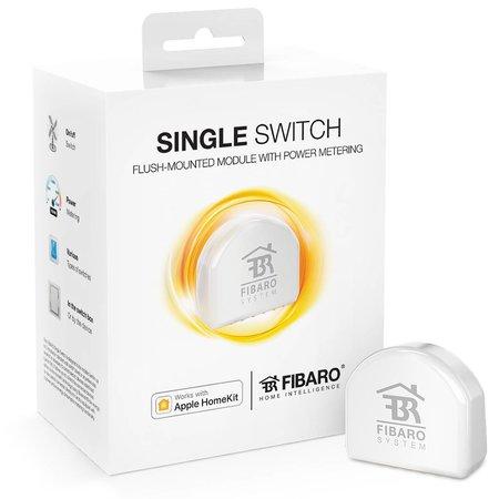 Fibaro Single Switch works with Apple HomeKit