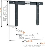 Vogel's THIN 505 ExtraThin Fixed TV Wall Mount