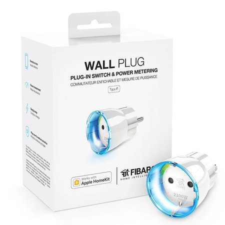 Fibaro Wall Plug works with Apple HomeKit