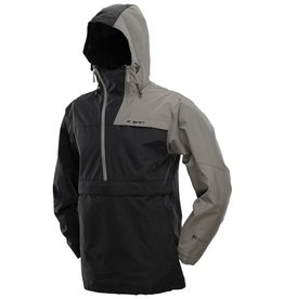 JACKET PULLOVER <br /> Black/Gray