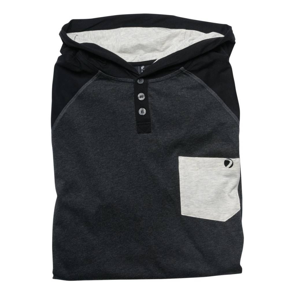 COBA HOOD SHIRT Heather/Gray/Black