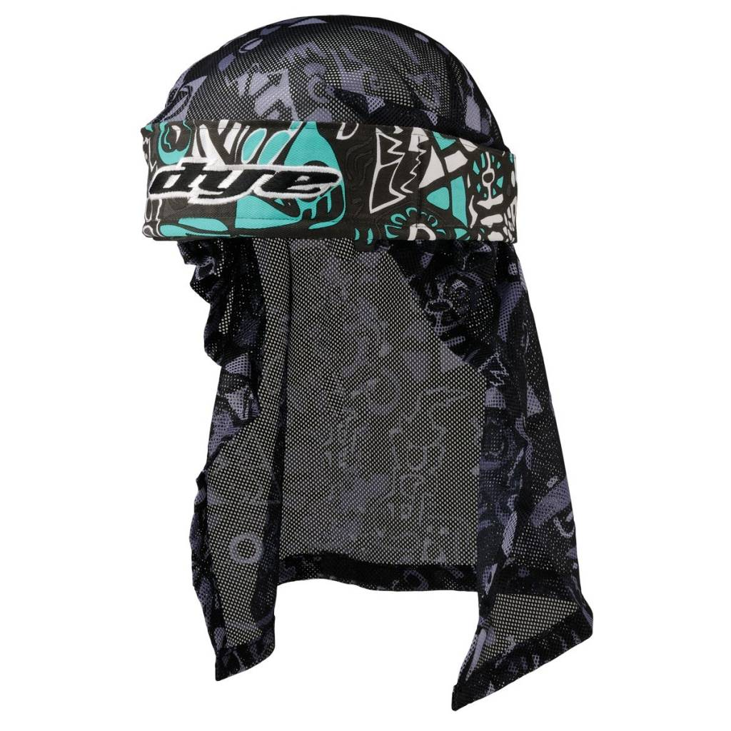 HEADWRAP ESKIMO TEAL/GREY/BLACK