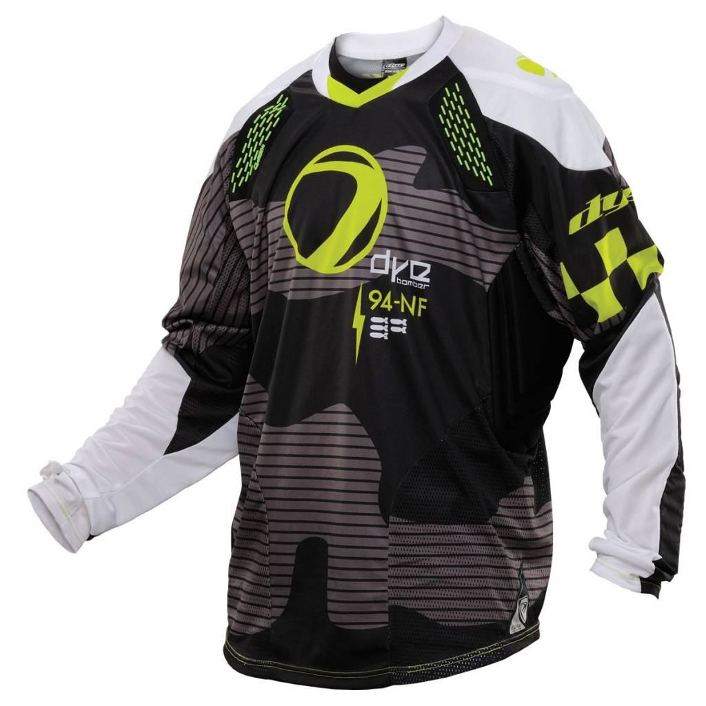 CORE JERSEY BOMBER Black/Lime