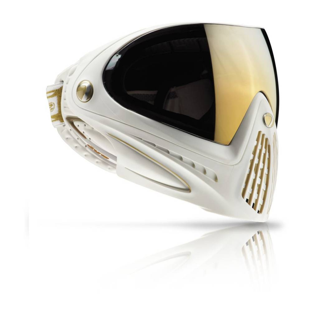 PAINTBALL GOGGLE – DYE i4 WHITE GOLD