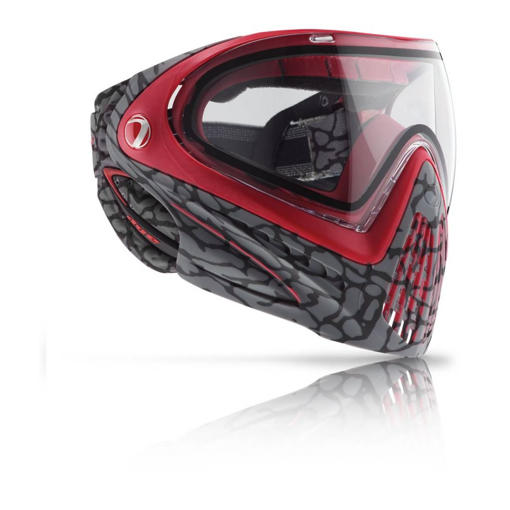 PAINTBALL GOGGLE – DYE i4 SKINNED RED
