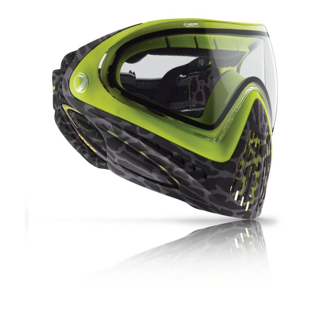 PAINTBALL MASQUE – DYE i4 SKINNED LIME