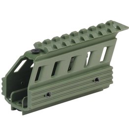 MODULAR PICATINNY SHROUD <br /> OLIVE DUSTED
