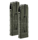 DAM TACTICAL MAGAZINE - 20 ROUND 2 PACK Olive Dusted