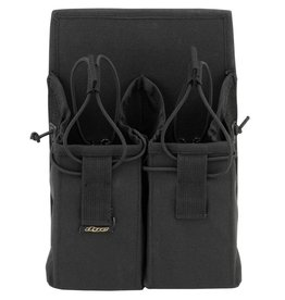 MAGAZINE POUCH DOUBLE <br /> Black