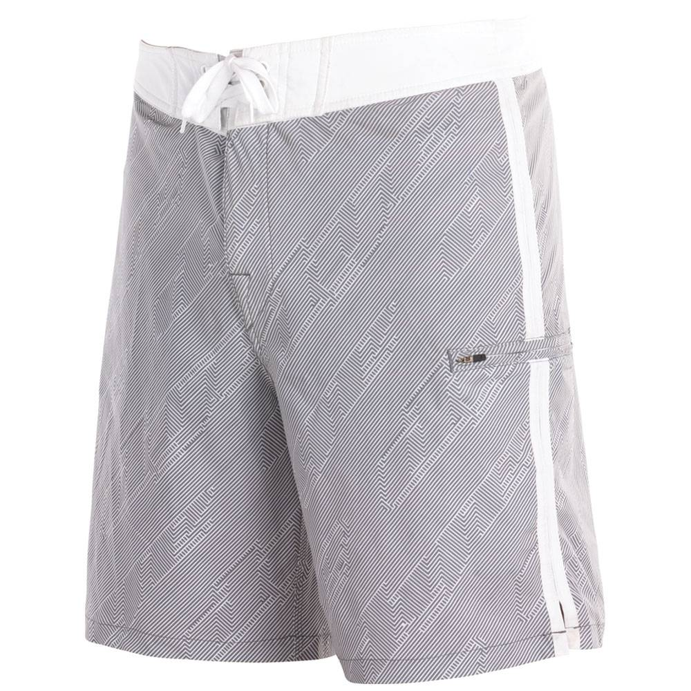 BOARDSHORT HYPNOTIC White / Grey