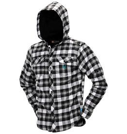 FLANNEL LUMBERJACK HOODED<br /> Black