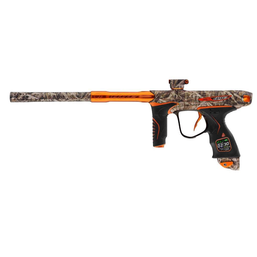 PAINTBALL MARKER – DYE M2 BACKWOODS HUNTER