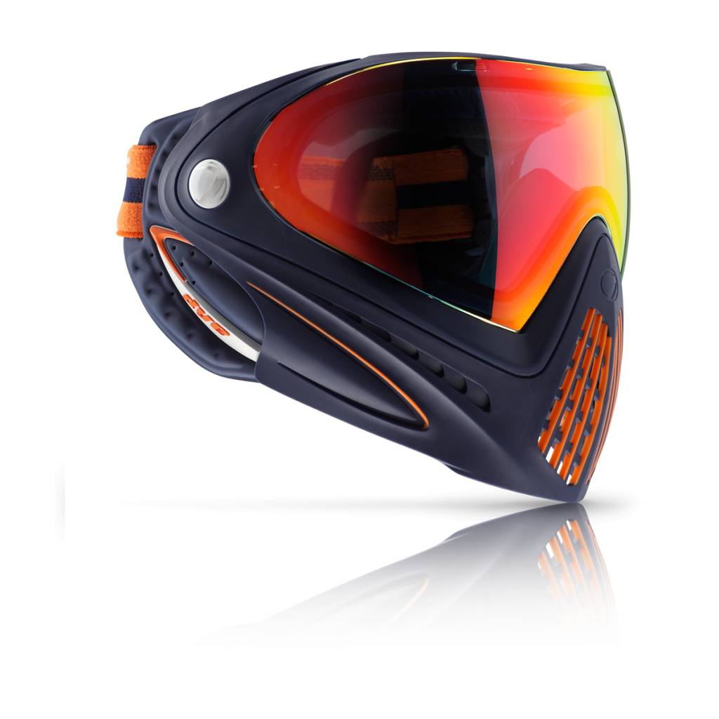 PAINTBALL MASQUE – DYE i4 ORANGE CRUSH