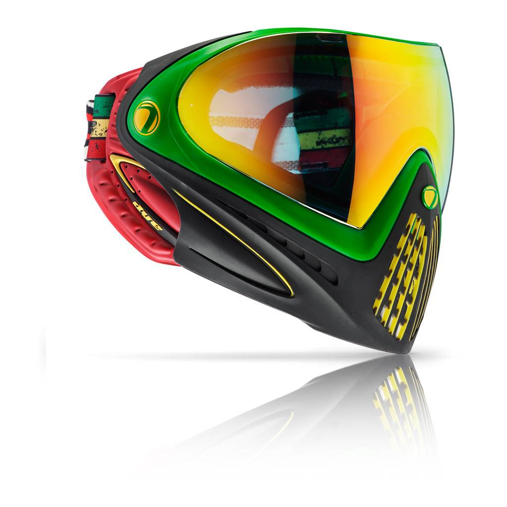 PAINTBALL GOGGLE – DYE i4 RASTA