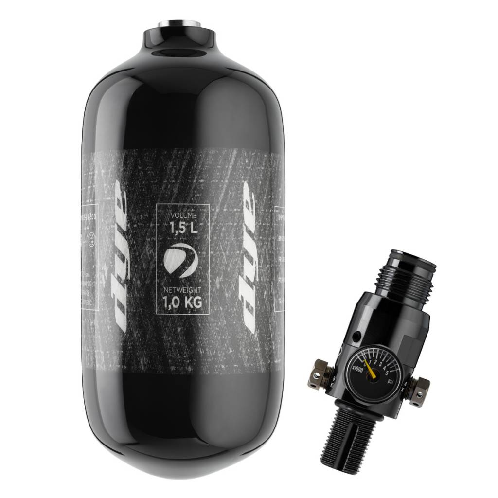CORE AIR TANK 1,5L INCL. 300 BAR PROTO THROTTLE REG
