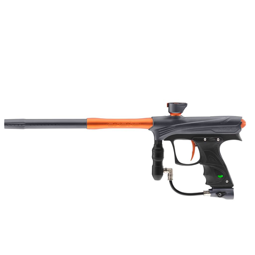 MARQUEUR POUR PAINTBALL – RIZE MAXXED Grey Orange